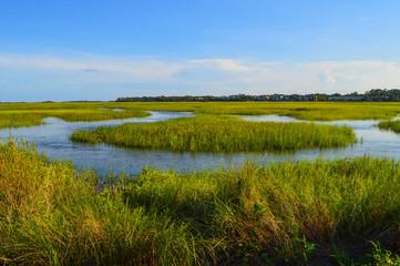 St. Simons Island, GA Village Creek Landing Marsh