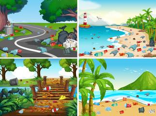 A Set of Environmental Pollution