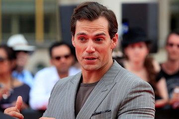 "Cast member Henry Cavill arrives to attend a photocall for the world premiere of the film ""Mission: Impossible - Fallout"" in Paris"