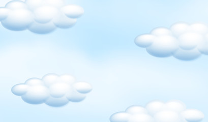 A Cloudy Blue Sky