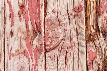 Grunge, weathered vertical wooden planks
