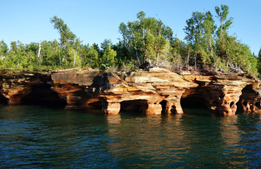 Apostle Islands cave