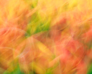 Photo art, bright Colorful light streaks abstract background