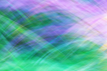 Photo art, bright Colorful streaks abstract background in blue, purple and green colors