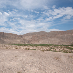 View from Boquillas Canyon Overlook, Big Bend National Park, Texas