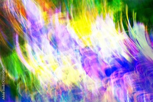 Bright Colorful Light