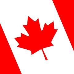logo  canada flag background