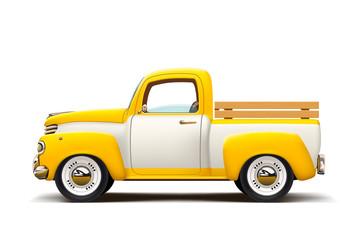 retro two color pickup