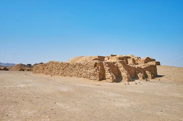 Zoroastrian ceremonial buildings in Yazd, Iran