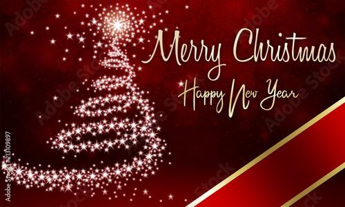 Feliz Navidad Joyeux Noel 2019.Feliz Navidad Y Prospero Ano 2019 Photo Libre De Droits Sur