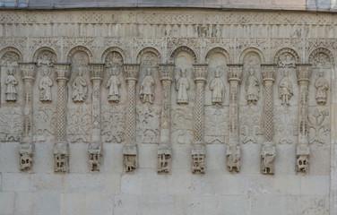 Cathedral of Saint Demetrius 1191 in Vladimir, Russia