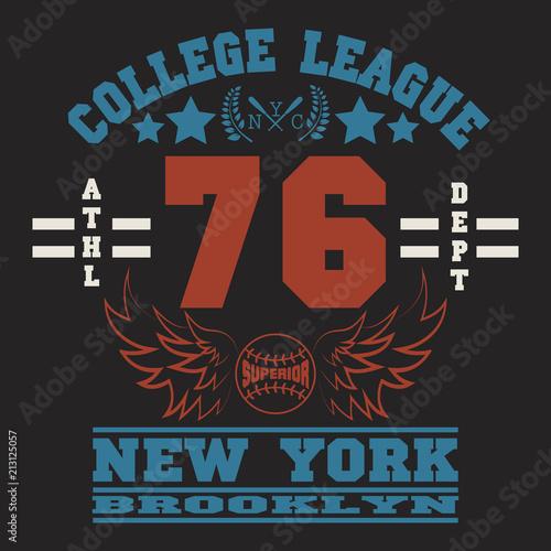 New York Sport wear typography emblem 66c71b964