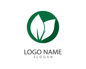 Ecology logo illustration design