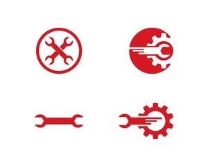 Auto repair logo vector