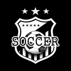 Soccer logo template design