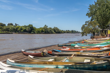 Row Boats at Tigre Delta - Tigre, Buenos Aires Province, Argentina