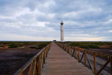Lighthouse in Morro Jable Fuerteventura Spain