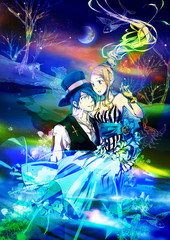お姫様と王子様(お姫様抱っこをするカップル)02