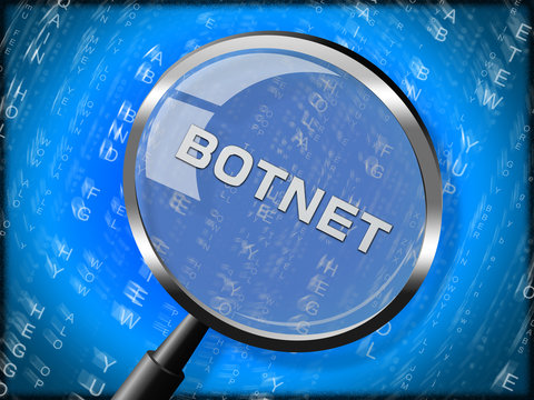 Botnet Illegal Scam Network Fraud 3d Rendering