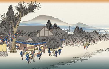 東海道石部
