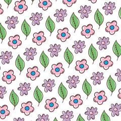 beauty flower exotic leaf background