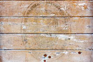 Background, old wooden wall, boards horizontally