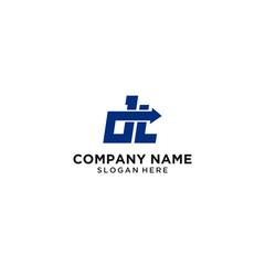 DT logo design