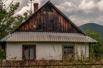 Old Carpathian house