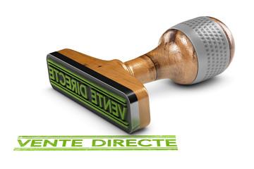 Vente directe sans intermédiaire du producteur au consommateur.
