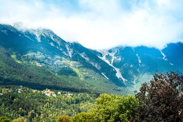 Alpine landscape near Innsbruck, Austria
