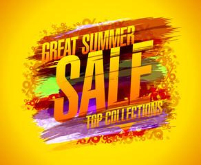 Great Summer Sale Poster blur (work) 03