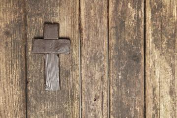 Rustic Christian Cross