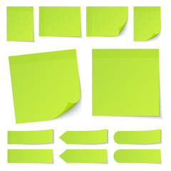 Green Stick Notes Collection