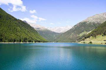 Alpen. Italien. See. Landschaftidyll