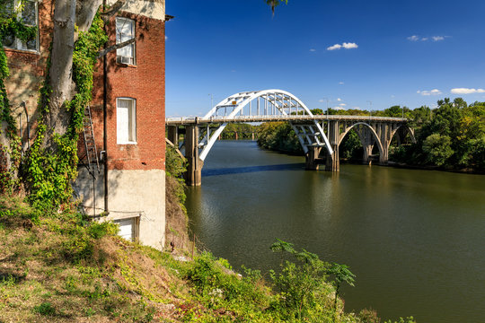 Historic Edmund Pettus Bridge, Selma, Alabama