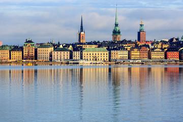 Summer morning in Stockholm Old Town, Gamla Stan, Sweden