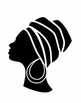 profile of an African woman