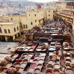 Marokko Stadt