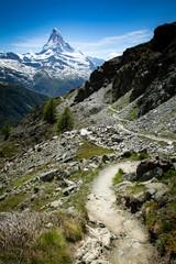 Wall Mural - Switzerland Travel Matterhorn Road
