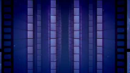 Arty Vintage Vertical Film Tape