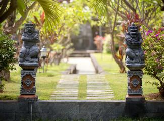 Gate in Hindu temple