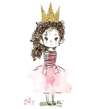 little cute princess