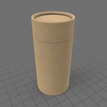 Small cardboard tube