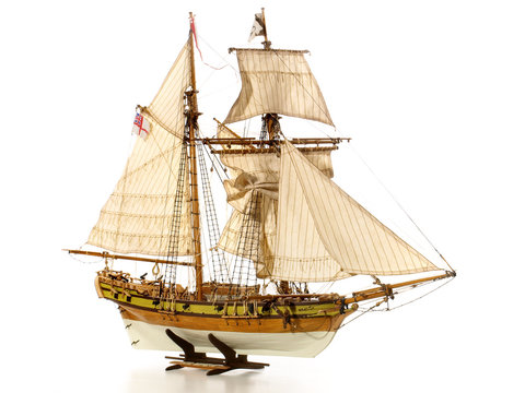 Modelbauschiff - HMS Berbice