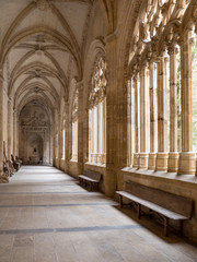 Inside Cathedral of Santa Maria de Segovia. Spain. Cathedral Church of Our Lady of the Assumption and San Frutos de Segovia. Of late Gothic style with some Renaissance features. March, 2018