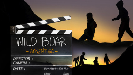 wild boar team Adventure  to the cave