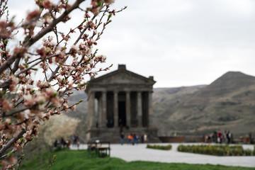 The Temple of Garni a classical Hellenistic temple in Garni, Armenia