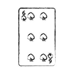grunge six pikes casino card game