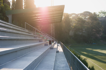 Fotorollo Stadion Cement terrace on empty stadium
