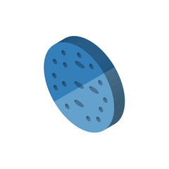 Basophil isometric right top view 3D icon